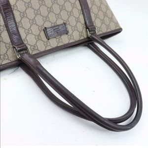 Gucci Bags - 100% Authentic Gucci Tote Bag GG Browns PVC 700088